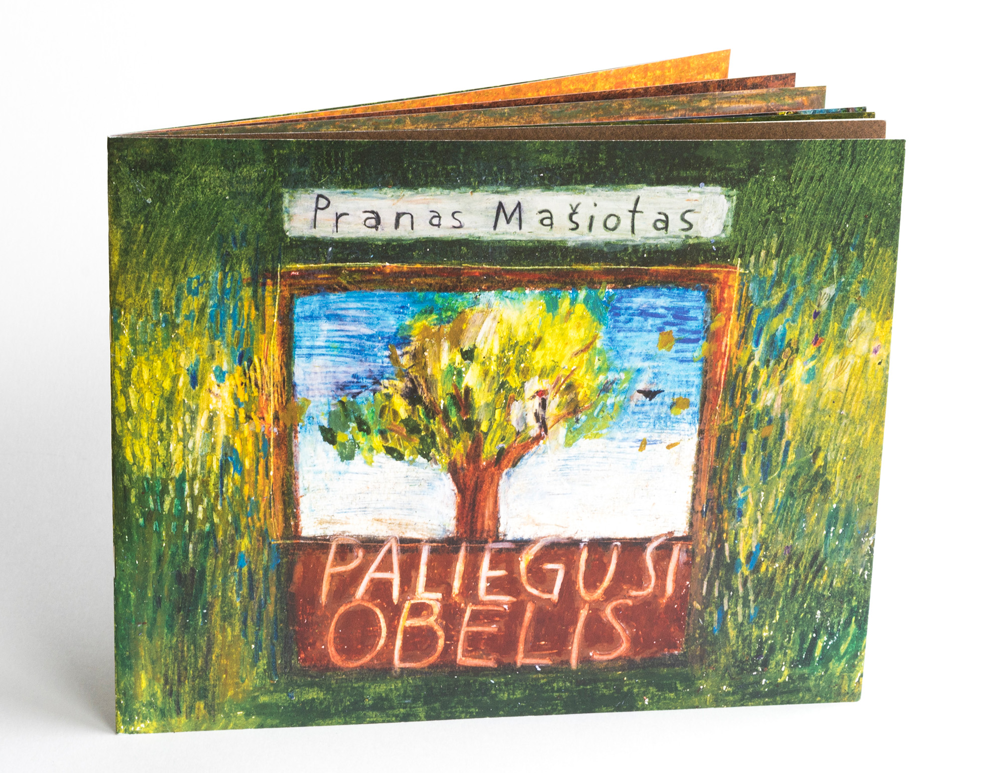 Cover of Paliegusi obelis