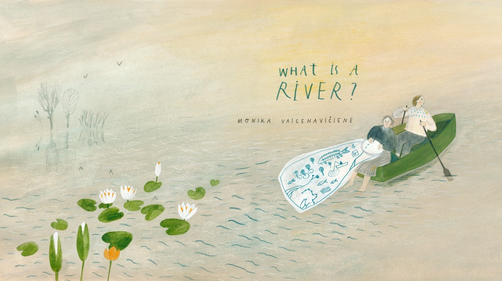 Illustration from What Is a River?